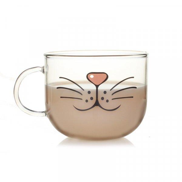 Миленькая кружка CPLIFE для утреннего чая. Примерь усы! (540 мл)