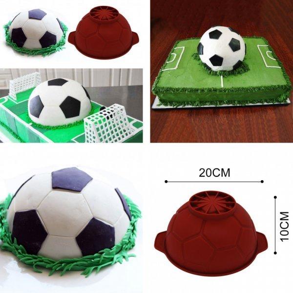 Силиконовая форма для торта Мяч (20*20*10 см)