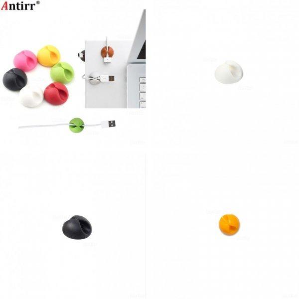 Круглый слот для проводов Antirr организует порядок (5 цветов)