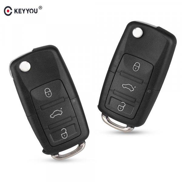 Корпус ключа зажигания для авто KEYYOU (2, 3, 4 кнопки)