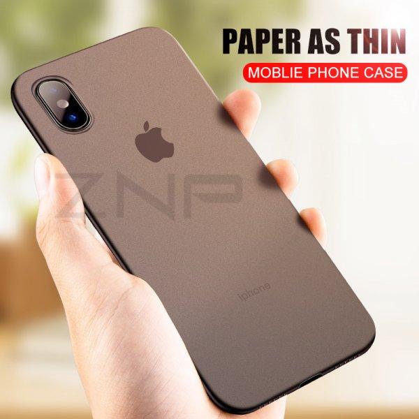 Идеальный бампер ZNP для iPhone  (X 6 6S 8 7 10)