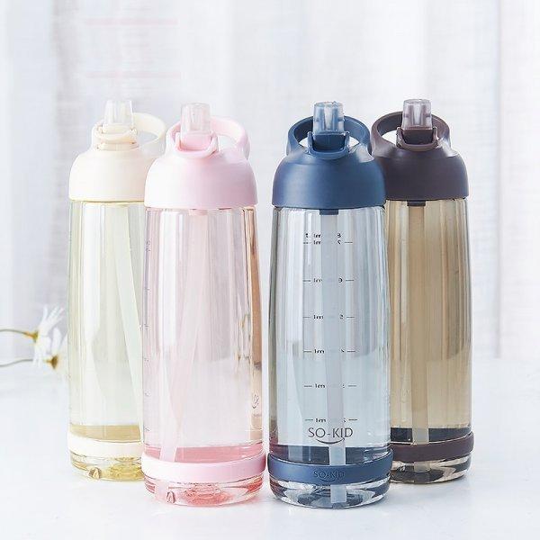 Бутылка для питьевой воды (3 объема, 4 цвета)
