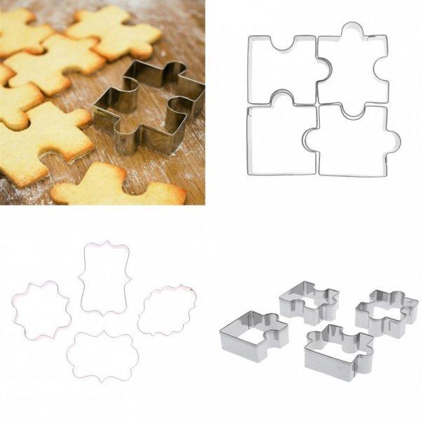 Форма для печенья Головоломка (4 шт)
