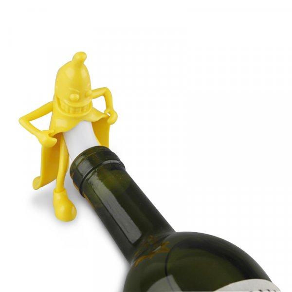 Пробка для бутылки с шампанским или вином Чумовой банан