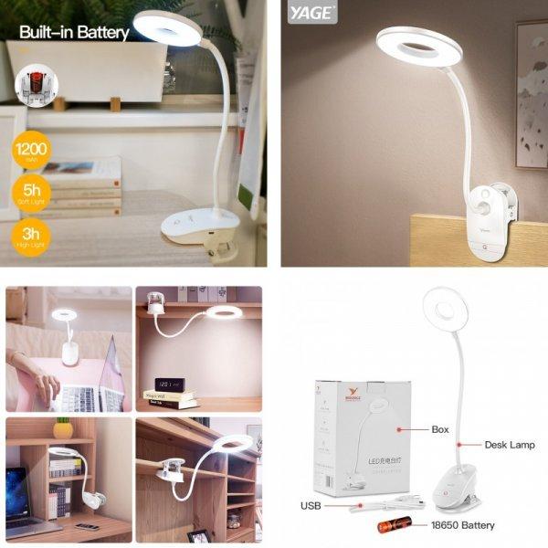 Настольная лампа с регулировкой YAGE
