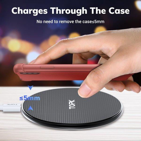 Беспроводная зарядка для смартфона TOPK