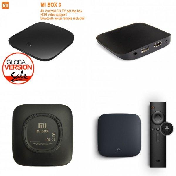 ТВ-приставка Xiaomi Mi tv Box 3 Android 8,0