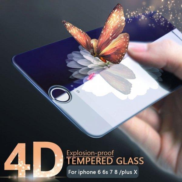Защитное стекло на iPhone 7 и 7 Plus от ESVNE (4D)
