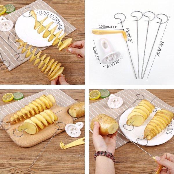 Нож для картофеля - спиральки