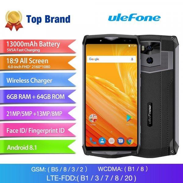 Смартфон Ulefone Power 5 (4 вида)