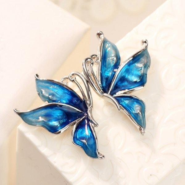 Изящные серьги Бабочки Neoglory