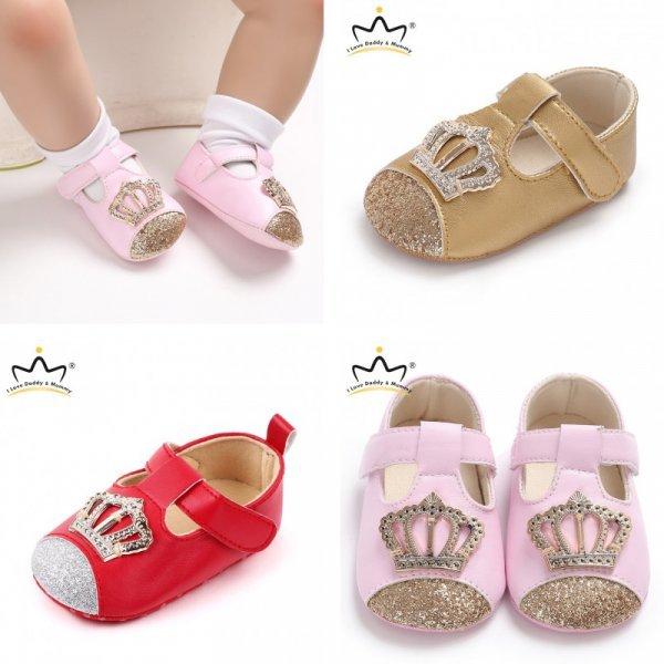 Пинетки-туфельки для принцессы (4 цвета)