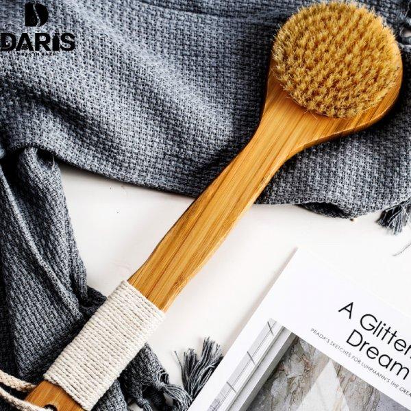 Щетка с натуральной щетиной для тщательного мытья SDARISB ( 8*33 см)