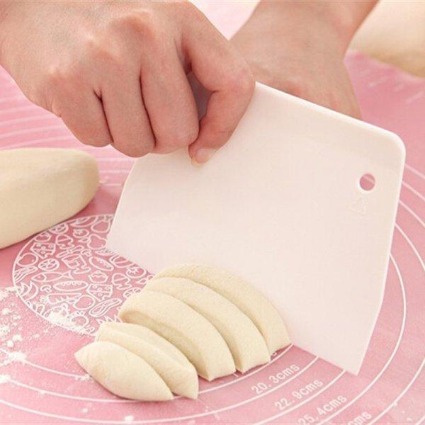 Шикарный шпатель для теста и декора Kitstorm (пластик, 13.5*9.5 см)