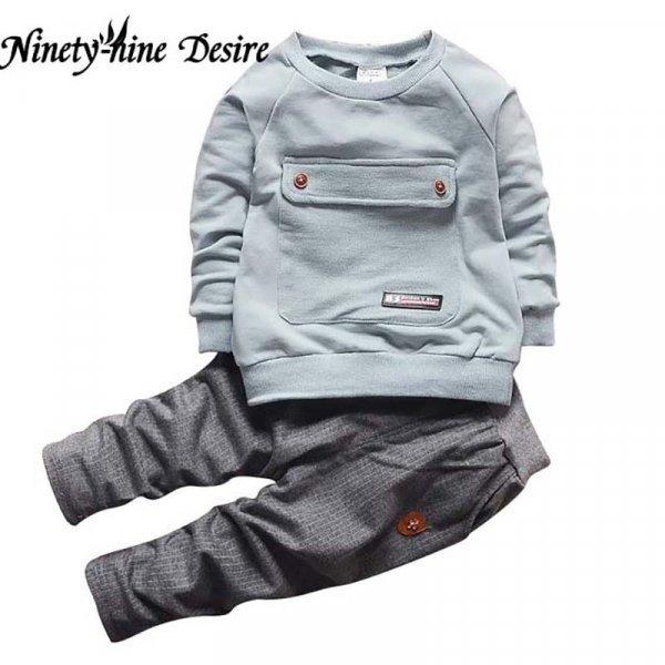 Мягкий и теплый костюмчик для малышей MXTOPPY  (4 цвета, 4 размера)