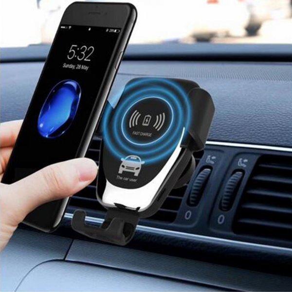 Автомобильная беспроводная зарядка для телефона  KEPHE (2 вида)