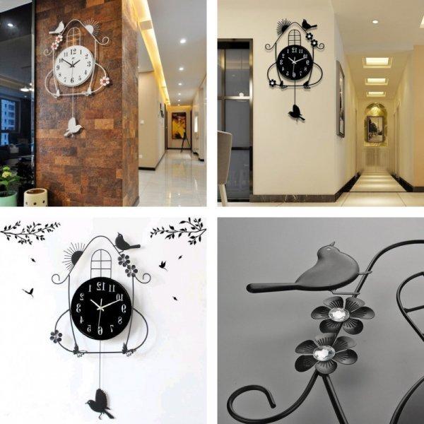 Часы с маятником CALL MOON (4 вида)