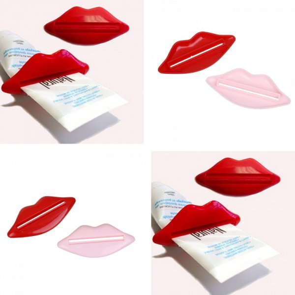 Дозатор для зубной пасты Kiss (93x42 мм)