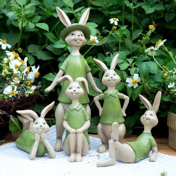 Веселый Кролик украсит приусадебный участок (5 поз)