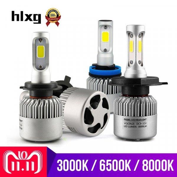 Светодиодные лампы Hlxg для фар L/36W, H/36W (2 шт.)