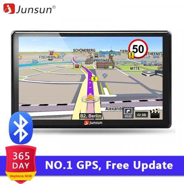 7-дюймовый GPS-навигатор от JUNSUN