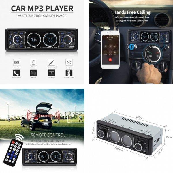 "MP3-магнитола с Bluetooth для авто Excelvan 4"""