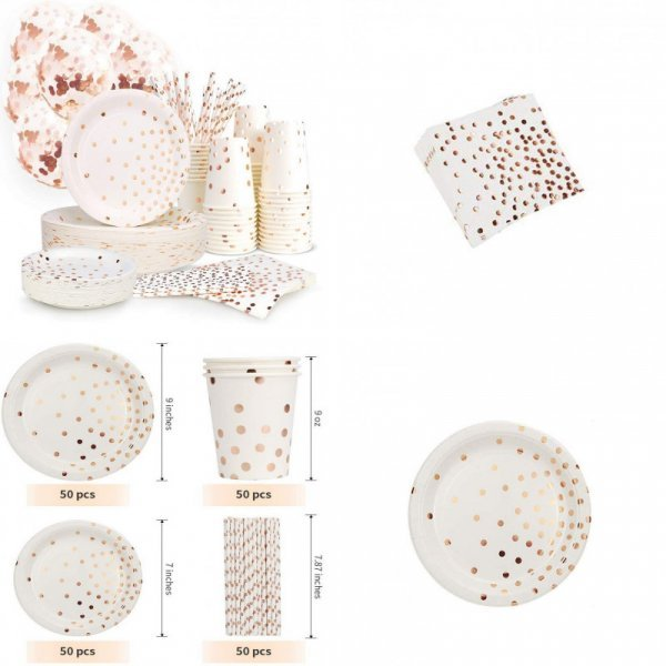 Набор праздничной посуды (40 шт)