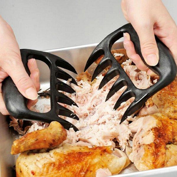 Разделывать мясо с вилками OUSSIRRO  легко