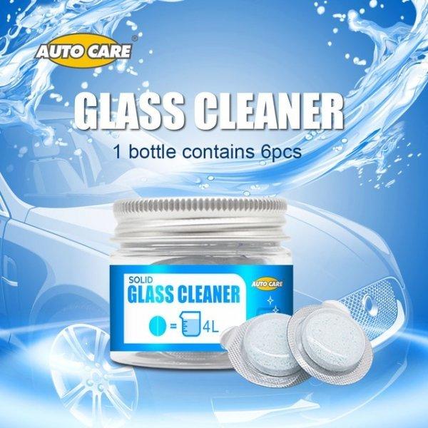 Твердый концентрат стеклоочистителя для авто AUTO CARE не токсичен (6 шт)