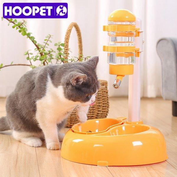 Необычная поилка с миской для кошек и собак HOOPET (300 мл)