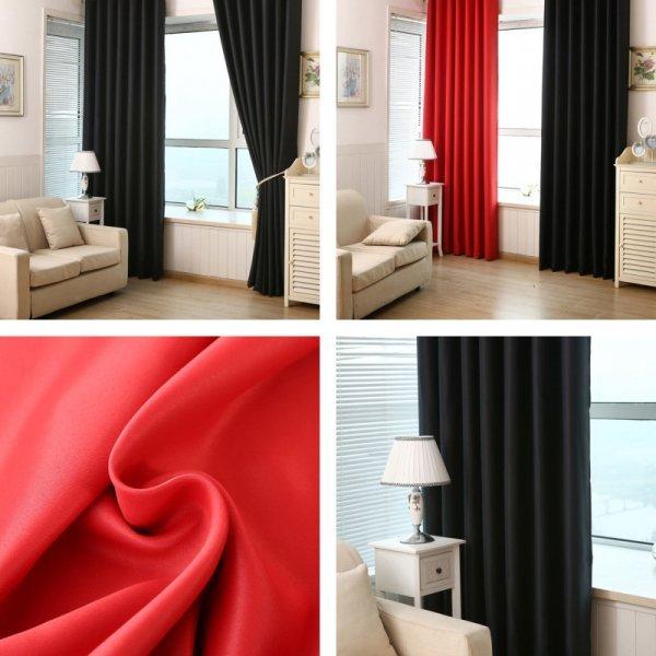 Плотные шторы AIHOME (2 цвета)