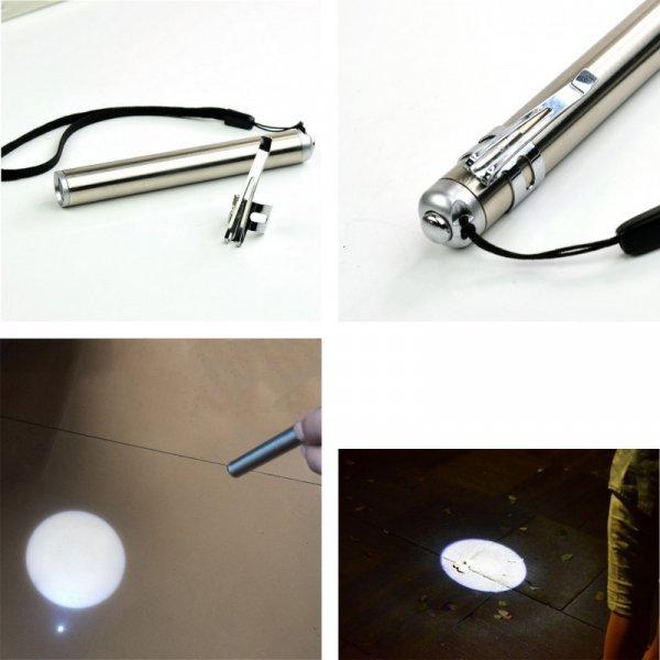Карманный фонарик на батарейках ASNKASNE