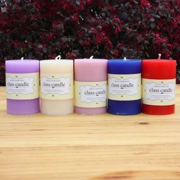 Ароматическая свеча (9 цветов)