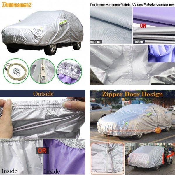 Отличный тент для защиты кузова авто Buildreamen (13 размеров)