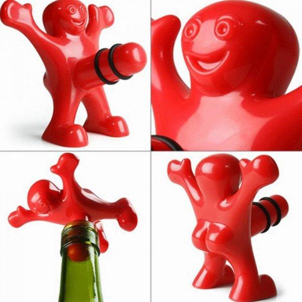 Чумовая пробка Весельчак для бутылок с вином