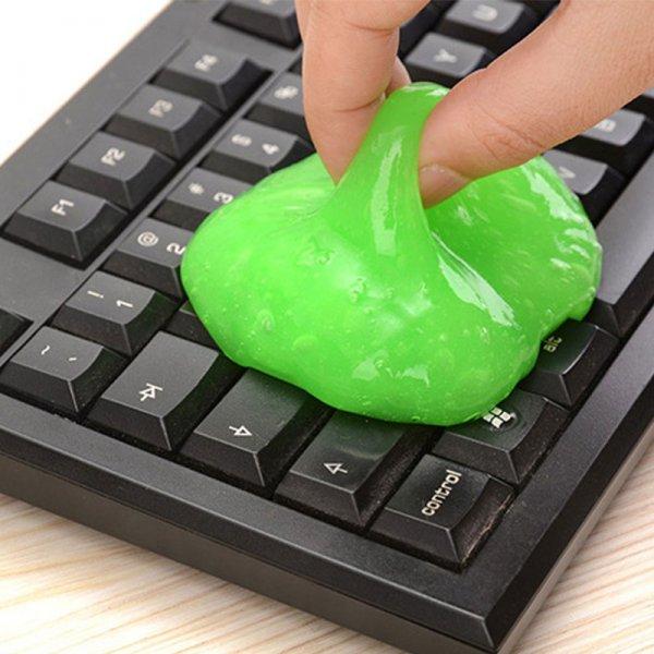 Чумовой Лизун для очистки клавиатуры