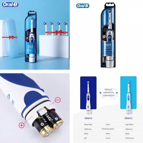 Электрическая щетка со сменными насадками Oral B Sonic