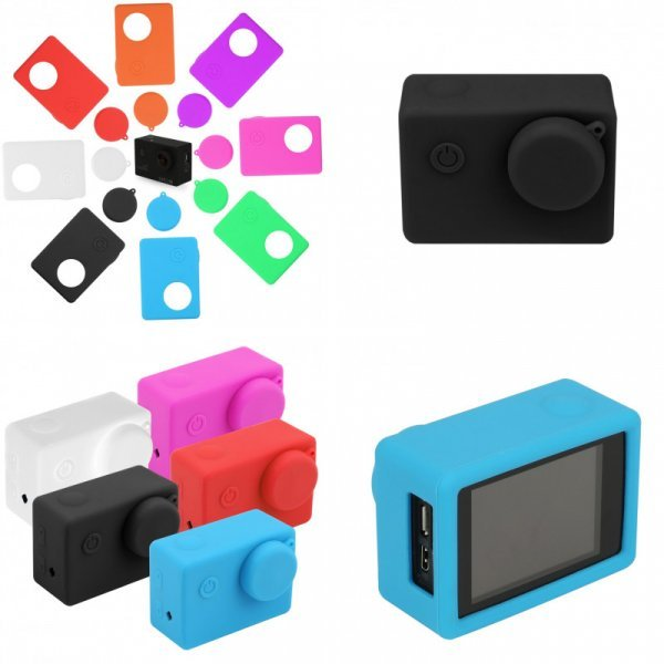 Силиконовый чехол для экшн-камер SJCAM, Eken и GoPro Hero 3
