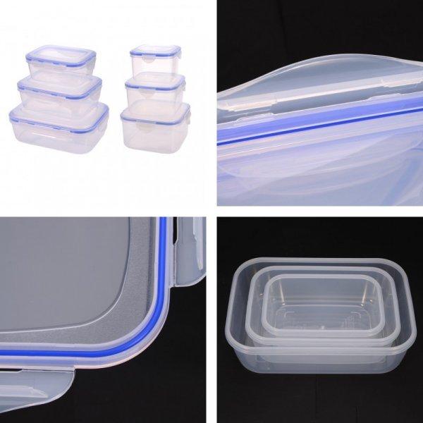 Шикарный набор контейнеров для пищи  ( 3 шт, 6 шт)