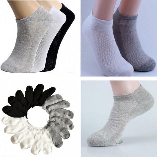 Отличный набор летних носков для женщин (3 пары)