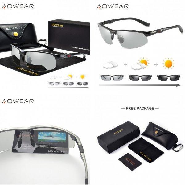 Мужские солнцезащитные очки AOWEAR (3 цвета)