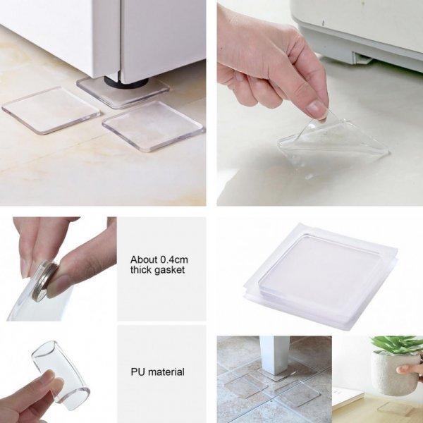 Универсальные накладки для мебели и бытовой техники (4 шт)