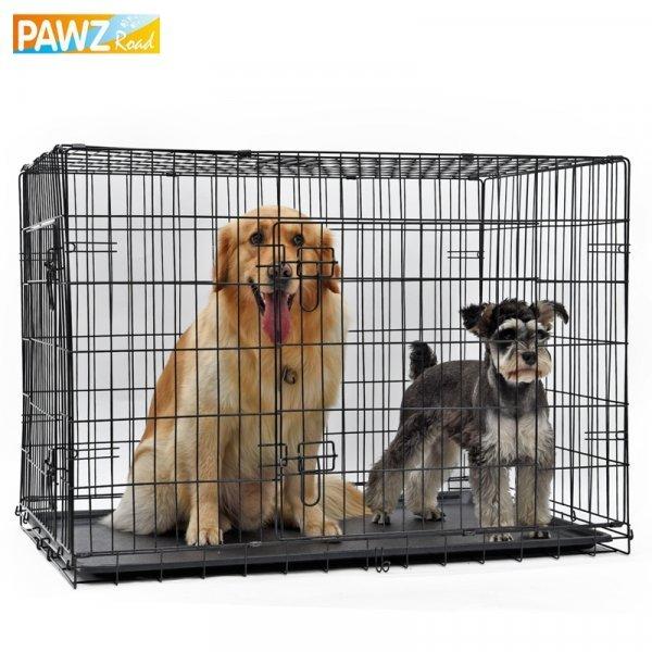 Переносная клетка для собак и кошек (5 размеров)