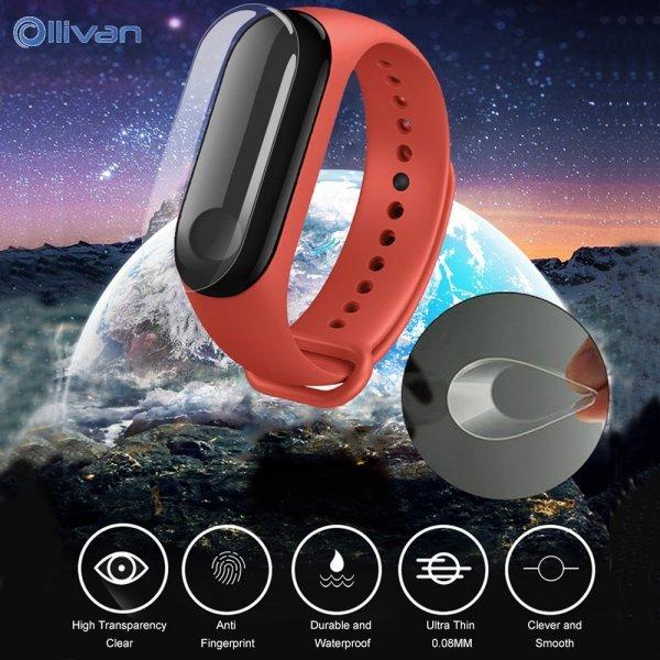 Защитная пленка от загрязнений Ollivan  для браслетов Xiaomi Mi Band 3