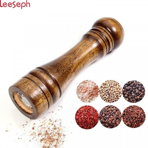 Деревянная перечница Leeseph (14.5*5 см, 22*5.5 см, 26,5*5.5 см)