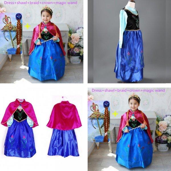 Новогодний костюм Анна (2 цвета, 9 размеров)