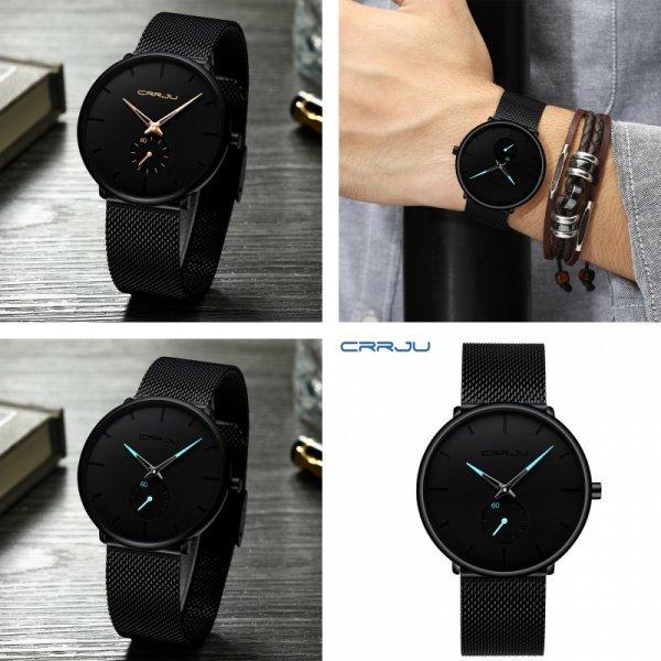 Модные мужские часы Crrju