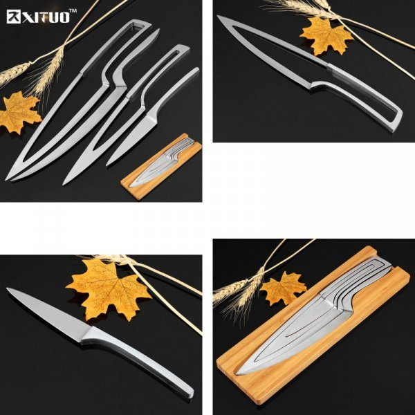 Стильный набор ножей из нерж. стали XITUO (4 шт)