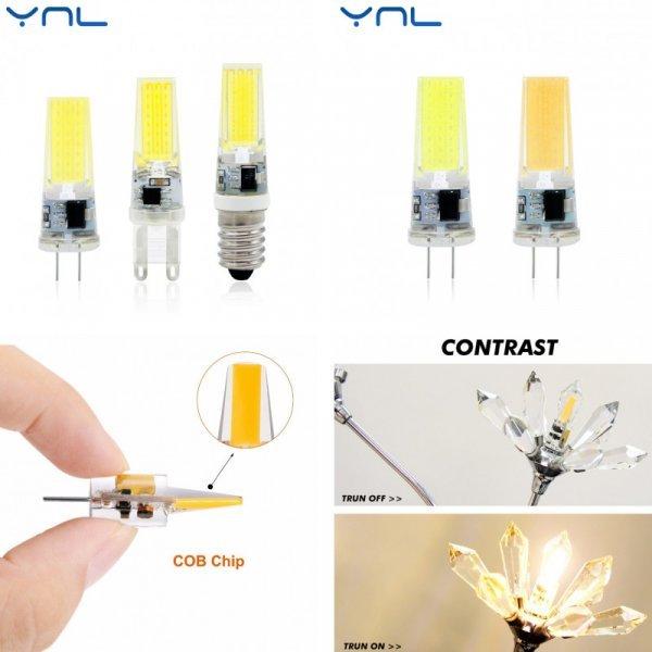 Светодиодная лампа YNL (G9 G4 Е14)
