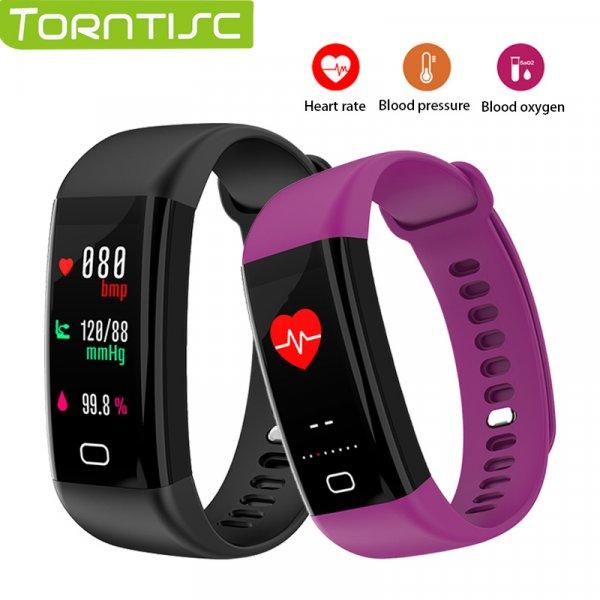Яркий браслет для фитнеса Torntisc + ремешок